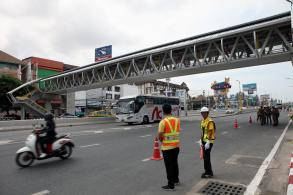 Hi-tech bridge eases disabled crossing woes in Pattaya