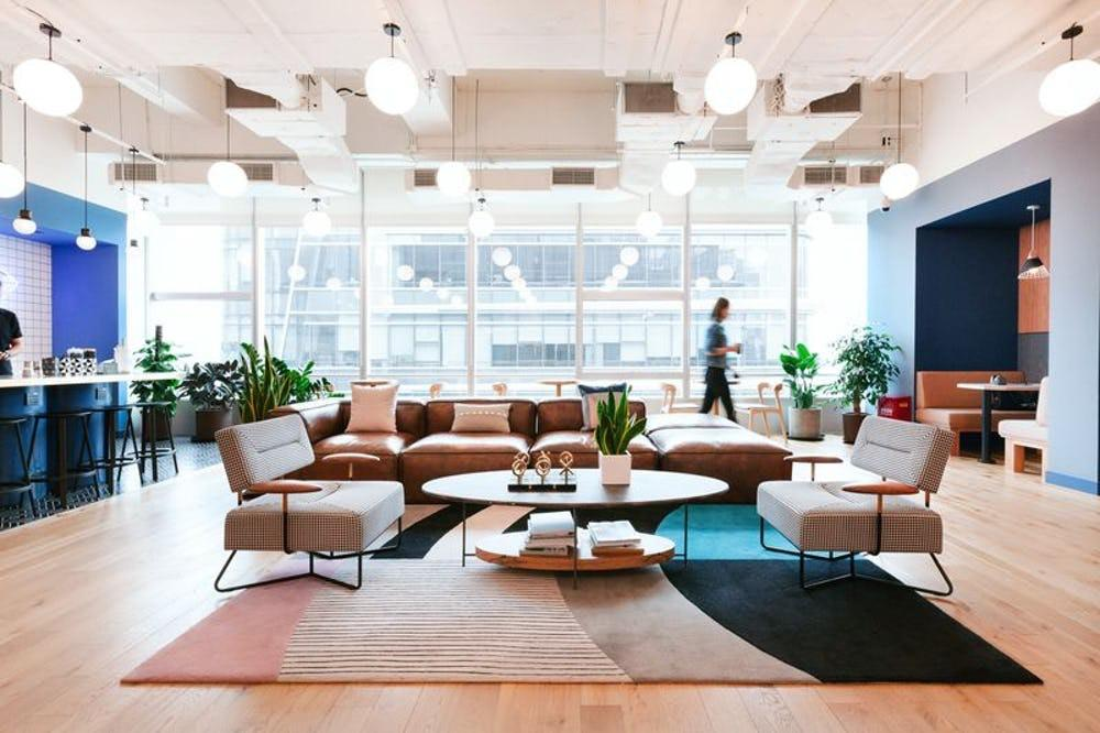 WeWork at the T-One Building on Sukhumvit Road was officially launched yesterday.