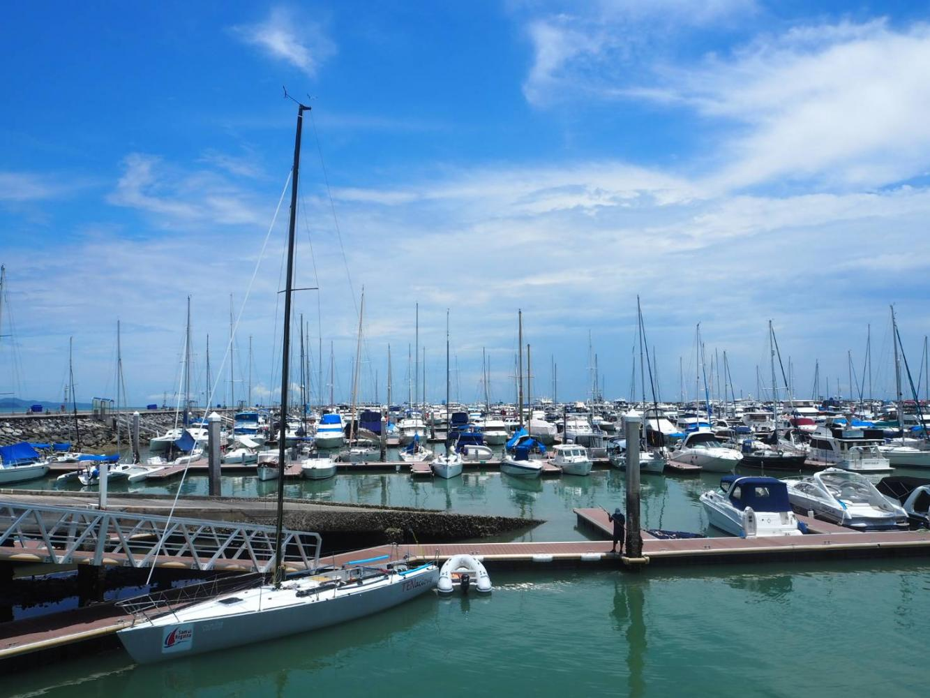 The Ocean Marina Yacht Club in Pattaya. The TAT is promoting yacht tourism after getting many enquiries from Europeans.