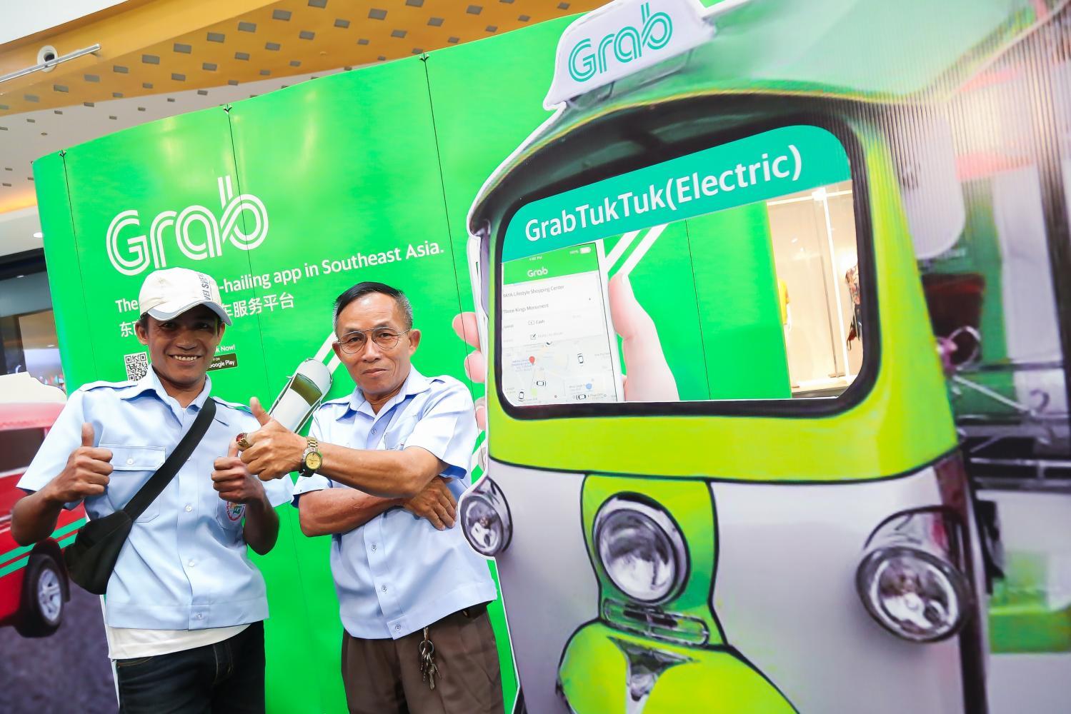 GrabTukTuk opens in Chiang Mai