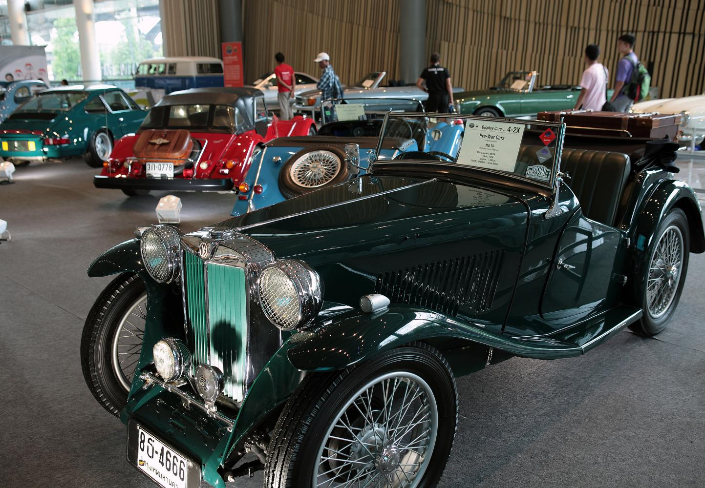 Vintage car exhibition goes off with a bang