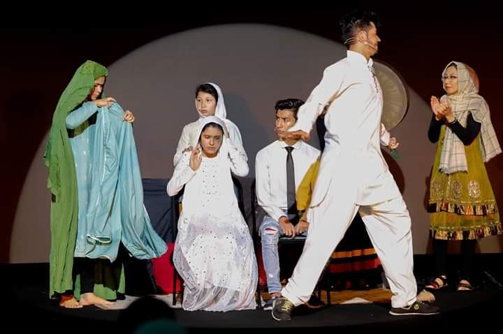 instrument for change: An Afghan refugee group finds its voice as the Parastoo Theatre group, which performed last week at Malaysia's Refugee Fest and is likely to go on regional tour including Bangkok later this year.