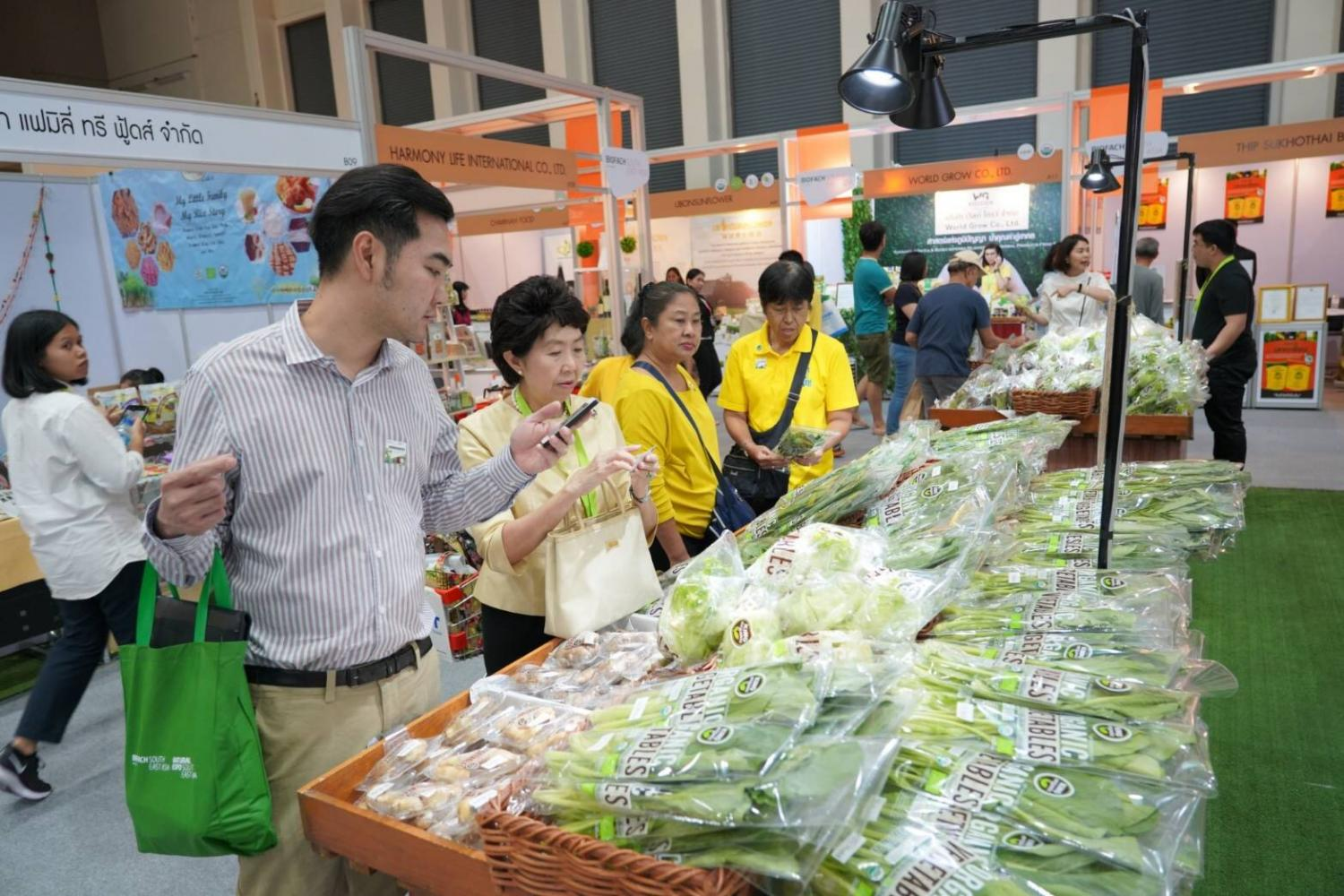 Thailand's organic product market is worth about 3 billion baht, consisting mainly of exports.