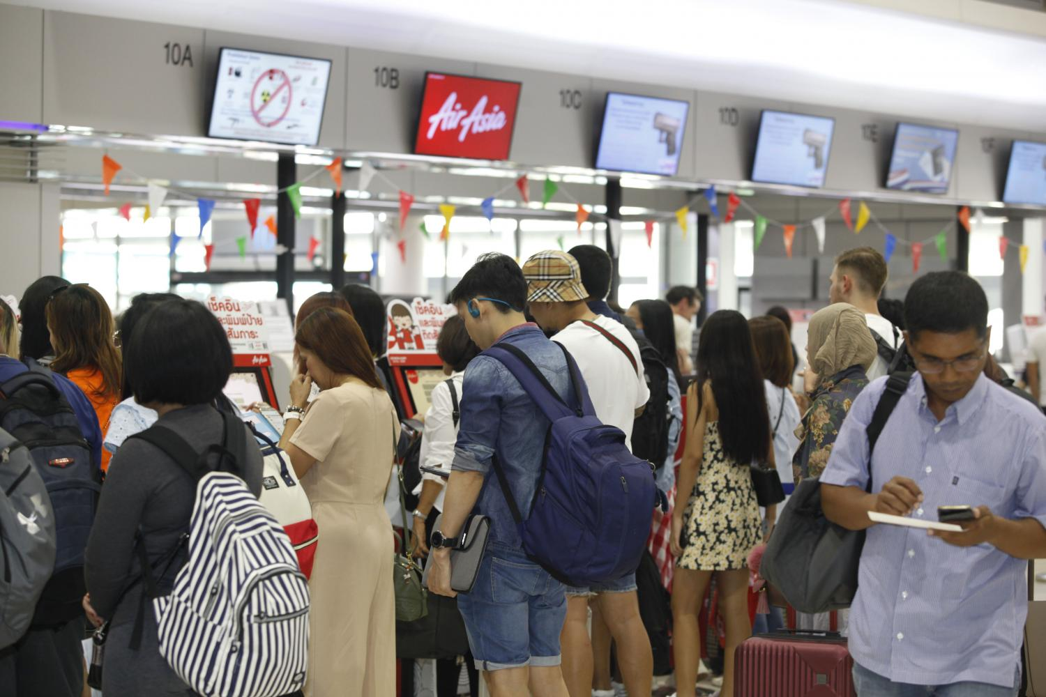 Lower airline ticket prices have prompted more overseas travel.
