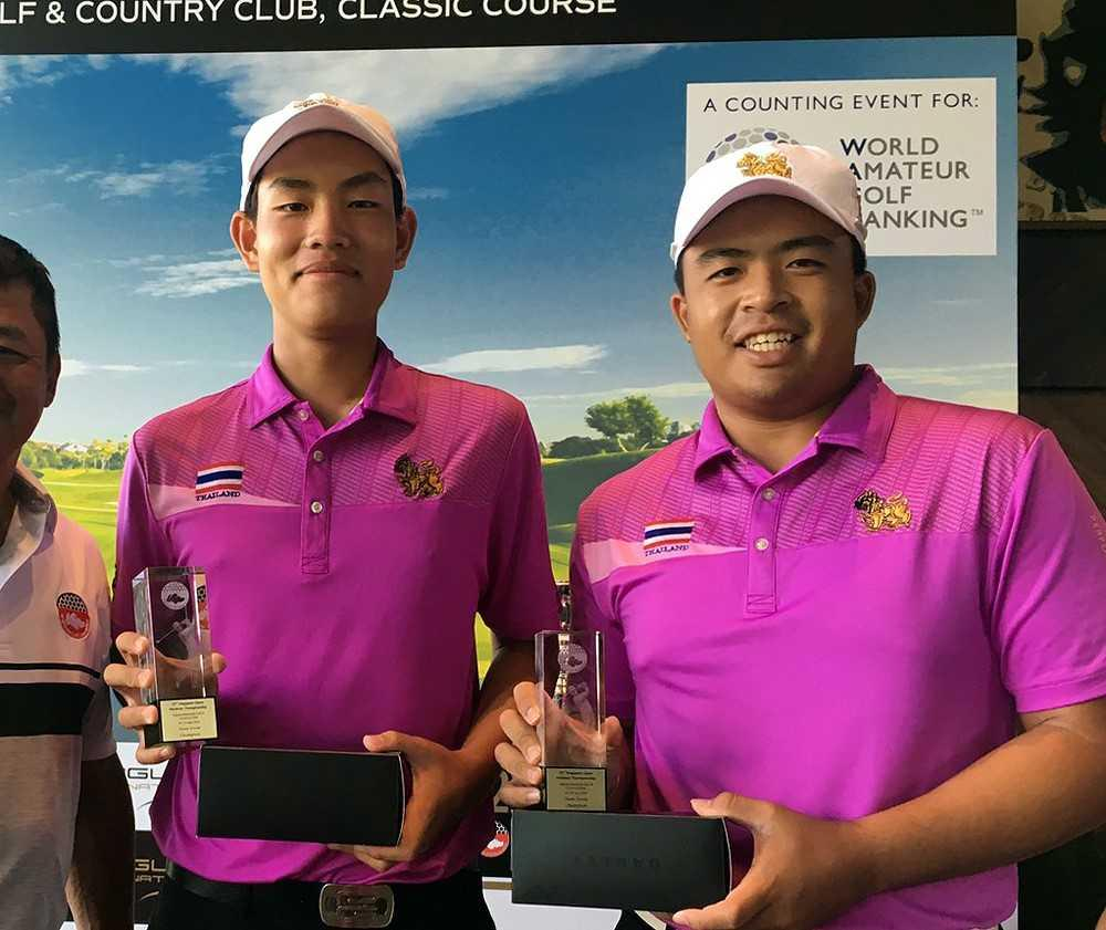 Denwit shows his class in bagging Singapore Open Amateur title