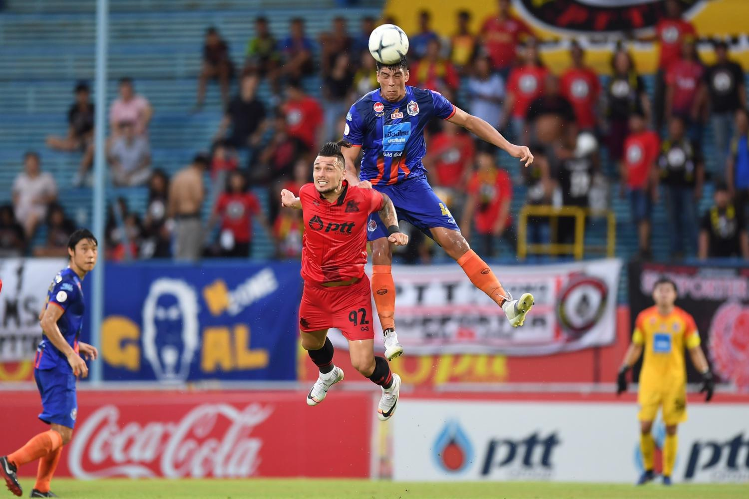 Rayong pile misery on Port in Thai League 1
