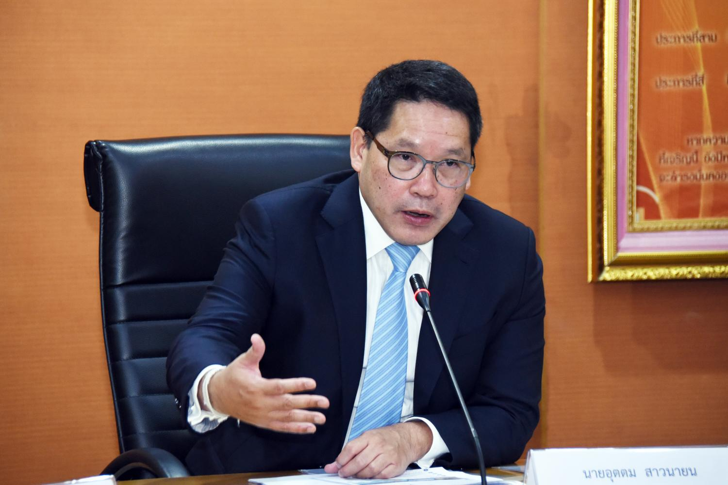 Mr Uttama says widening access to medical services, alleviating congestion at large hospitals and assisting top-scoring students who have financial difficulties will be Finance Ministry priorities.