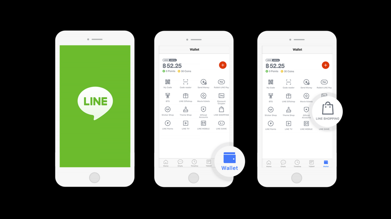 The number of users on the Line Shopping platform is aimed at reaching 8 million by this year, or 18% of the country's 44 million Line users.