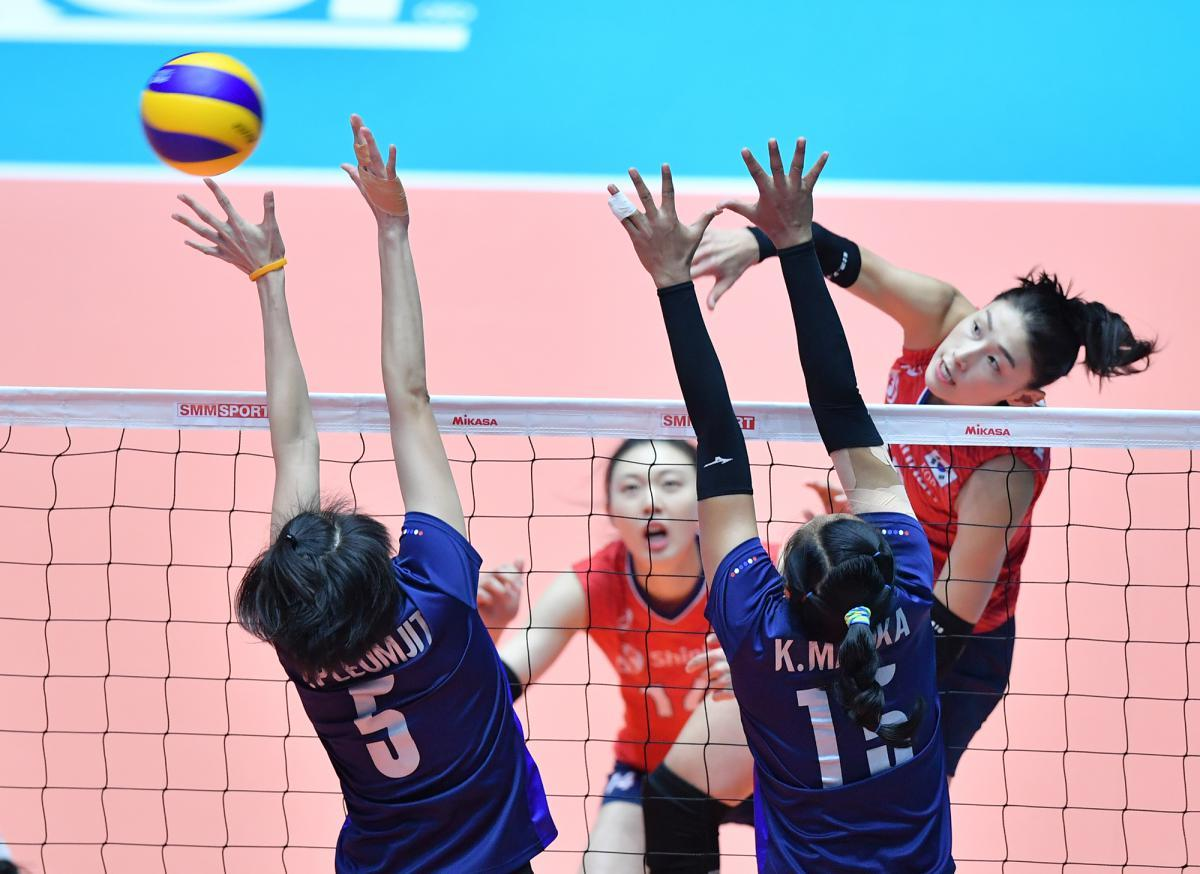 Mighty Chinese Await Thais In Asian Volleyball Championship
