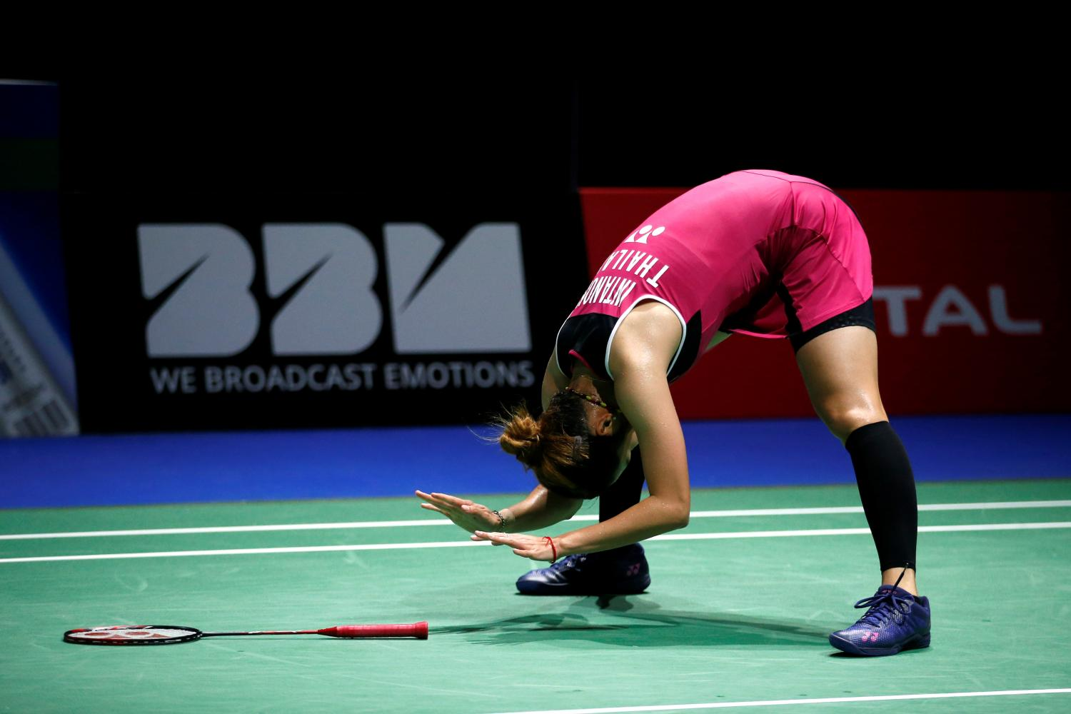 Ratchanok Intanon rues a missed chance. (Reuters photo)