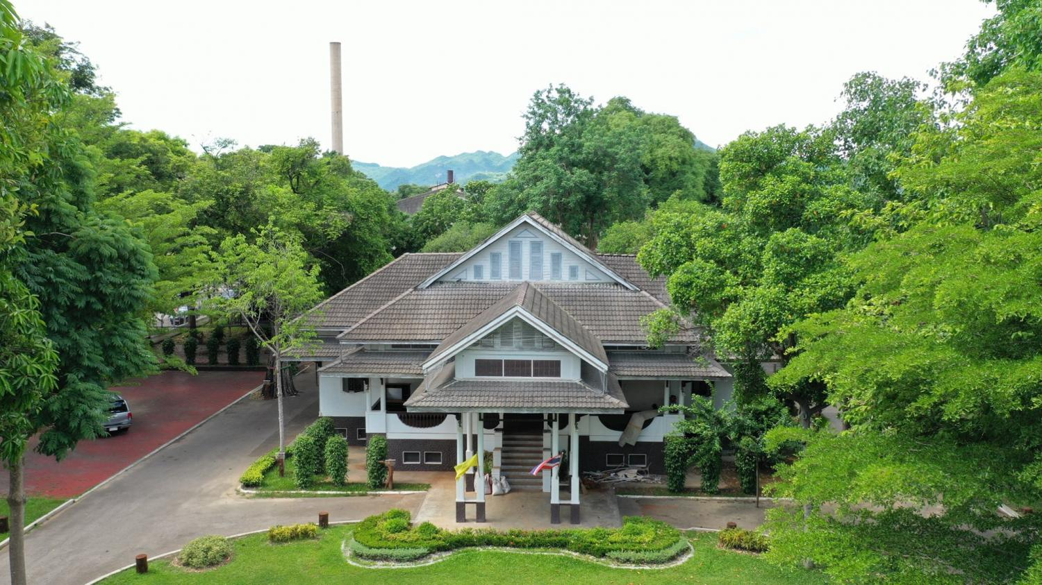 New lease on life: The old provincial governor's residence, 'Juan Phu Wah Kao' in Tambon Ban Nua of Muang district of Kanchanaburi province, will be developed into a local museum.
