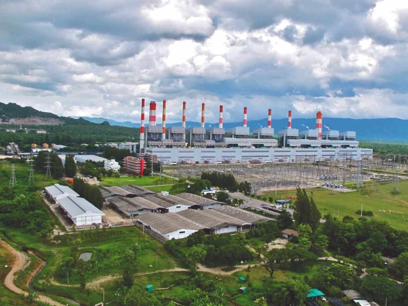 The Electricity Generating Authority of Thailand's Mae Moh power plant in Lampang province has a capacity of 300MW.