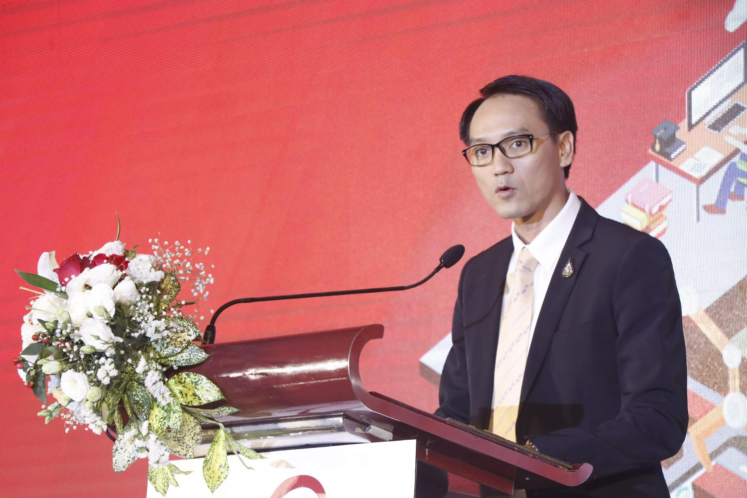 Mr Chai spoke about the platform at Nectec's annual conference on Monday.