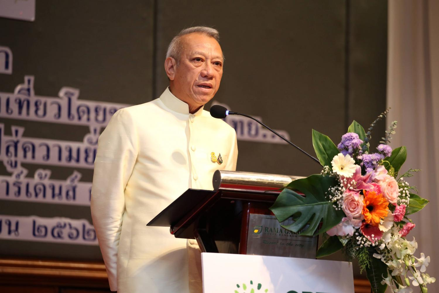 Tourism and sports minister Phiphat Ratchakitprakarn