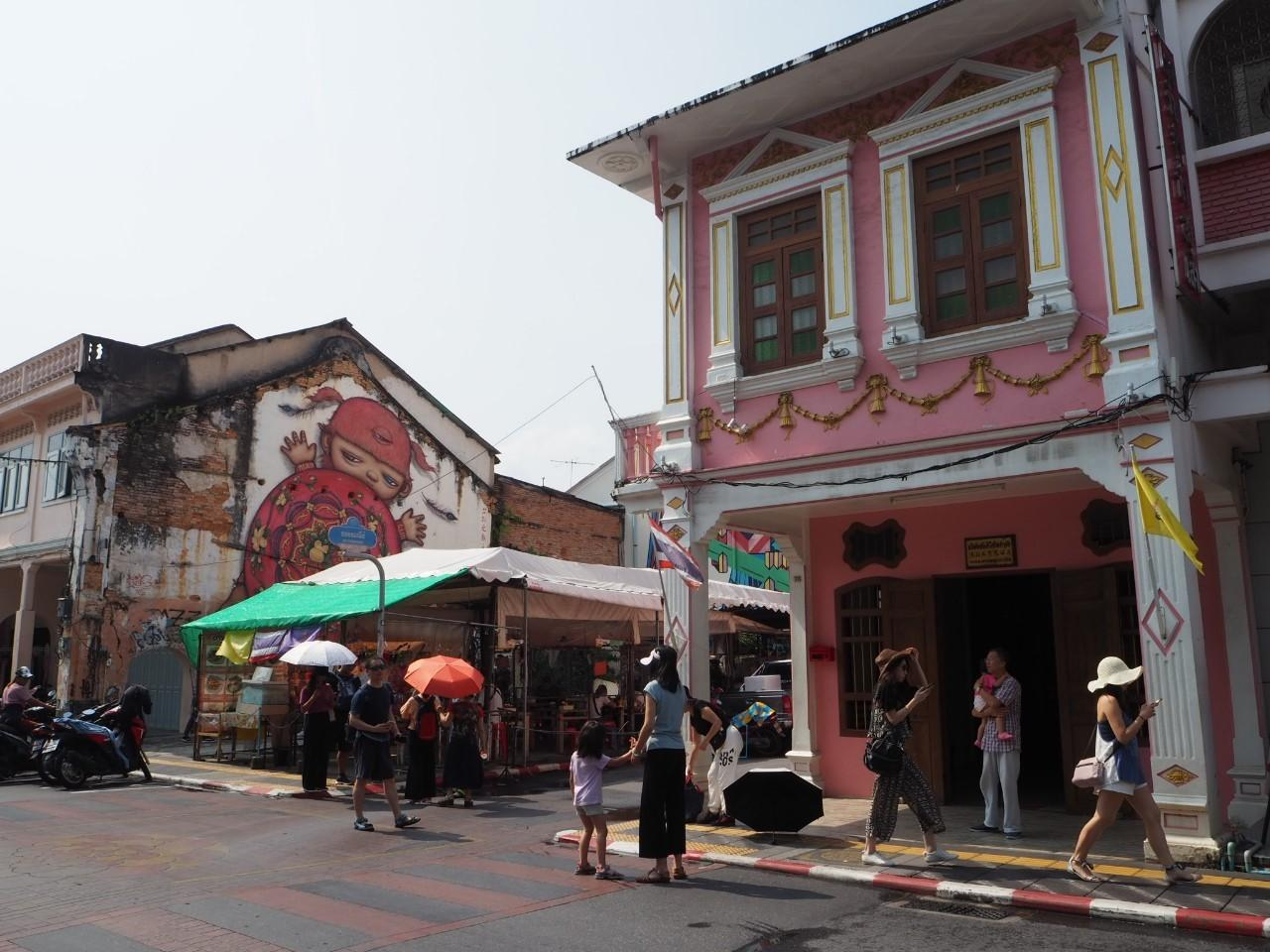 Old Phuket Town has become popular through social media over the last two years. Dusida Worrachaddejchai
