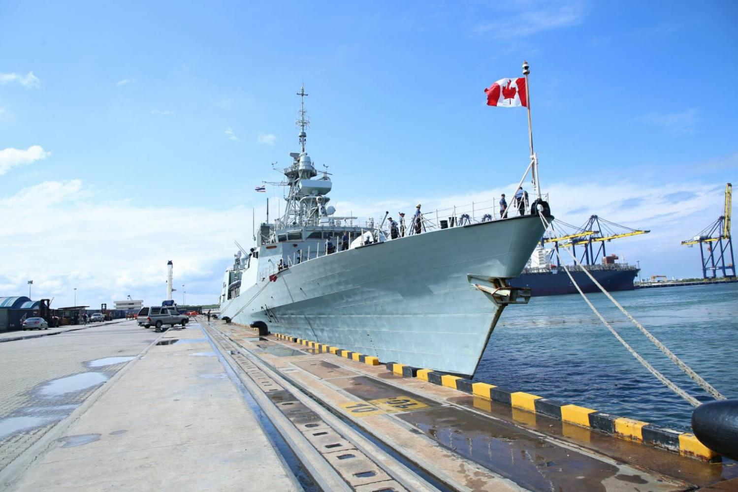 HMCS 'Ottawa' is making a port call at Laem Chabang until Thursday. Canadian embassy