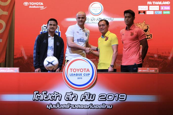 Buriram aiming for League Cup glory