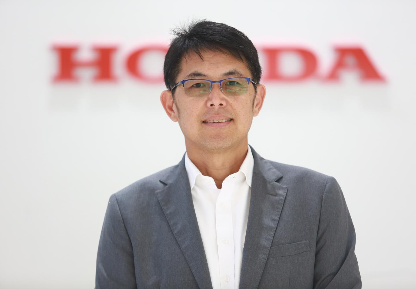Mr Suchart joined AP Honda in 1986. He says he was glad to be a part of the company for over 30 years.