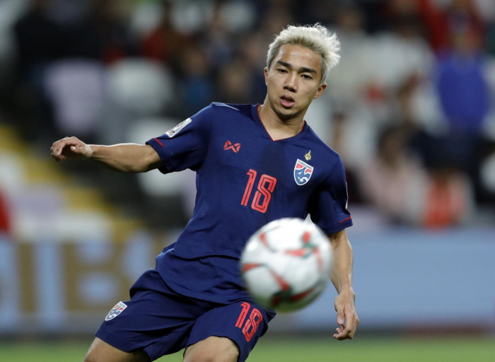 It's confirmed: Chanathip to miss World Cup qualifier