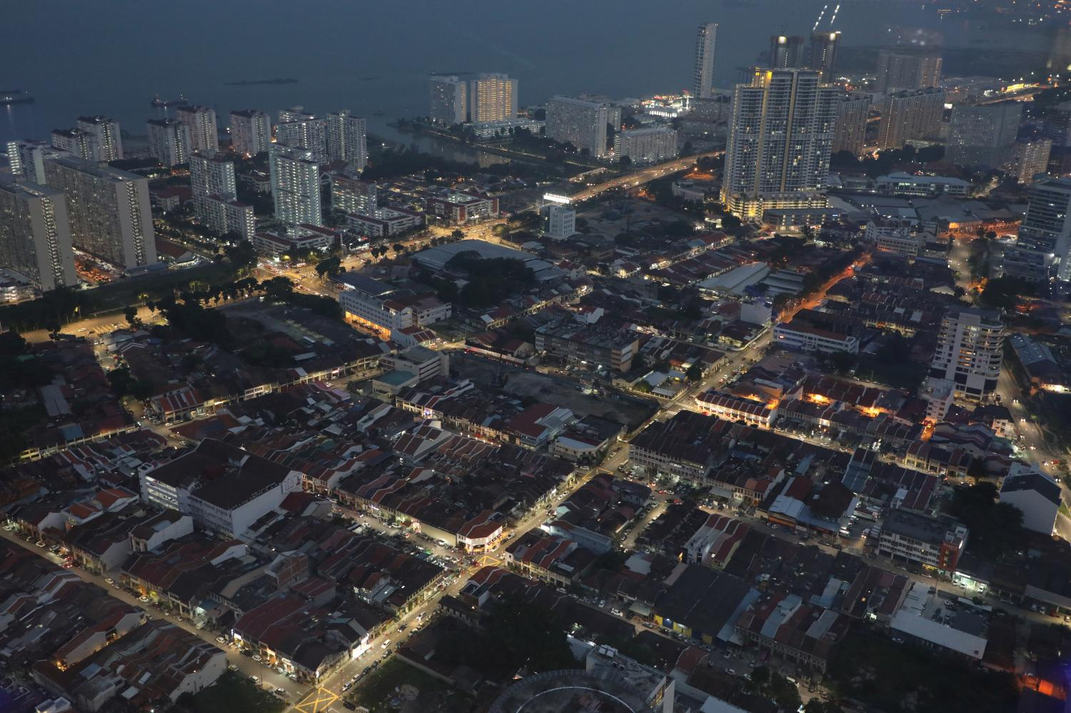 A general view of Penang, once called the 'Silicon Valley of the East' for its massive electrical and electronics industry before it lost its shine to China. (Reuters photo)