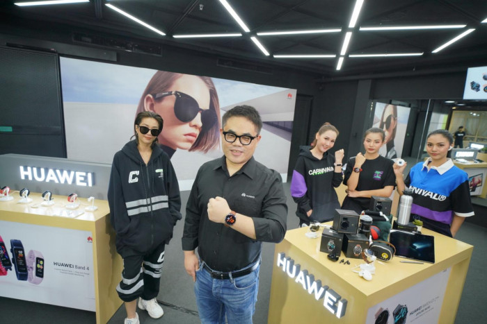Huawei adds smart sunglasses, gadgets