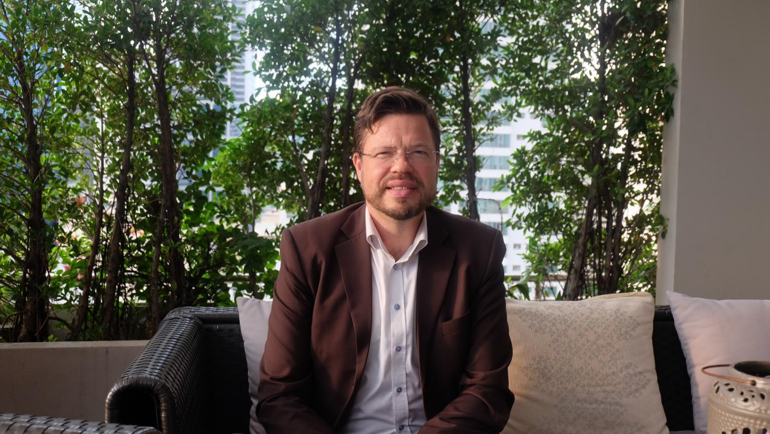 Green dreams: Kari Herlevi, the project director of the circular economy focus area at Sitra, is urging Thailand to adopt a circular economy in which materials are constantly reused to reduce waste.