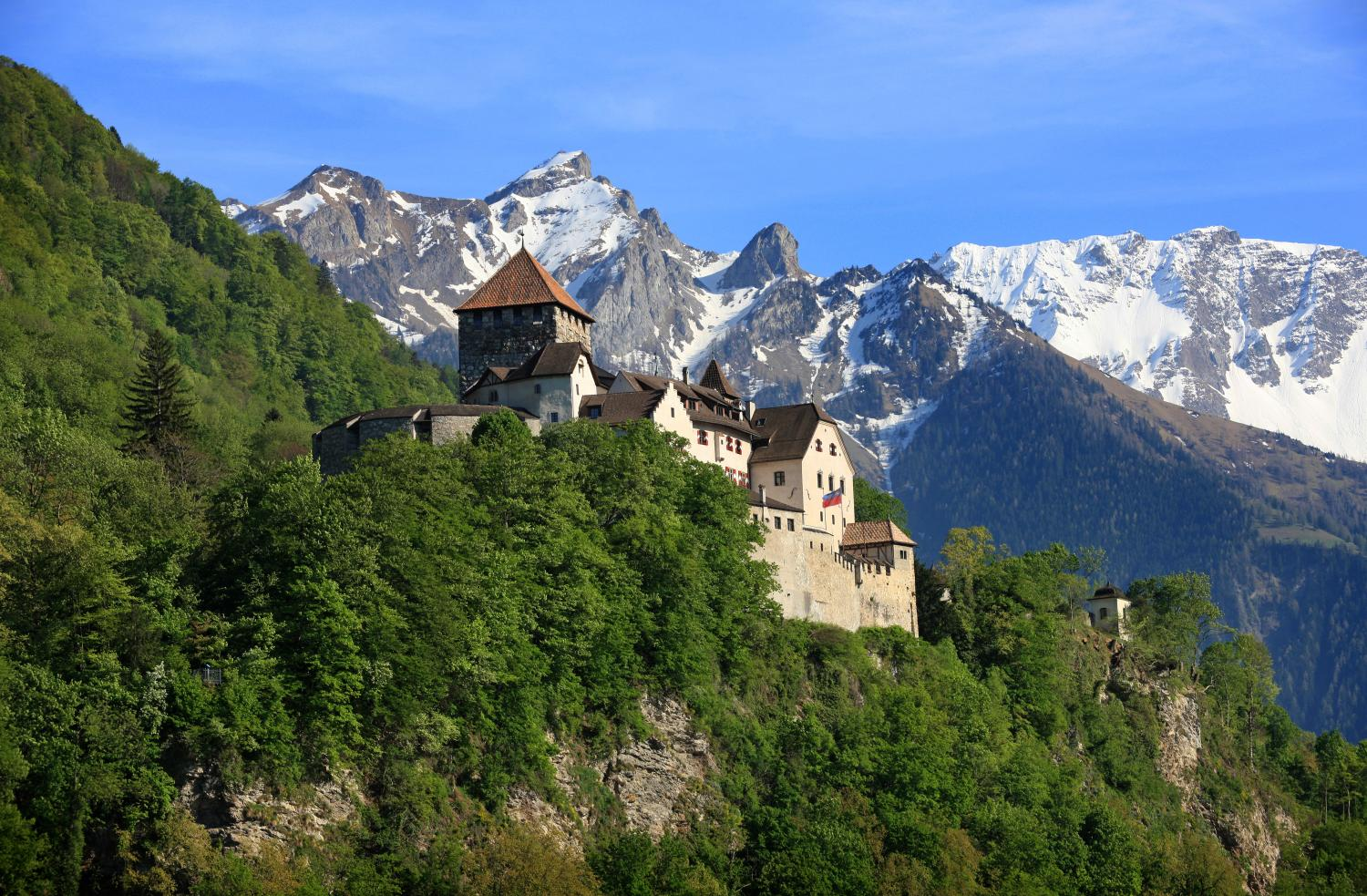 Vaduz Castle is the palace and official residence of the Prince of Liechtenstein. Roland Korner