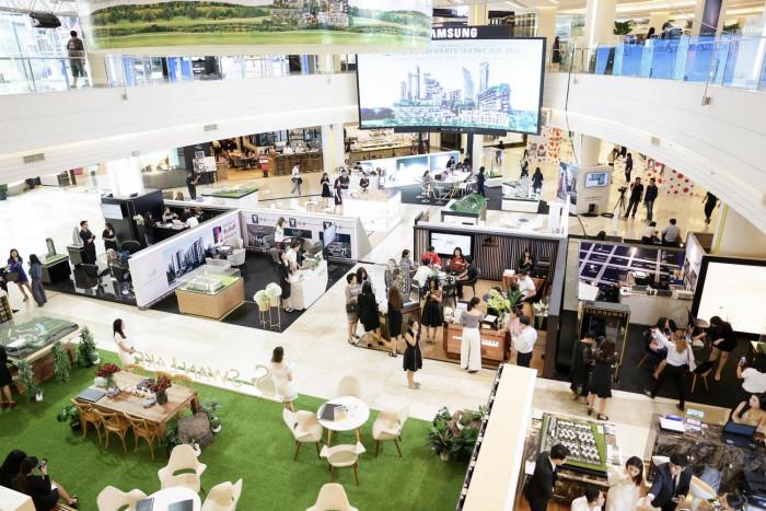 Luxury property showcase at Paragon