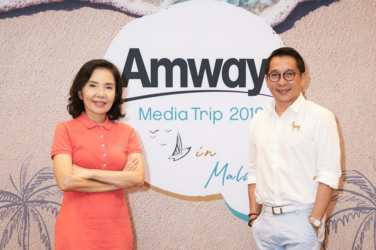 Mr Kittawat, right, and Ms Ratana say the company will focus on personalised products that are approachable.