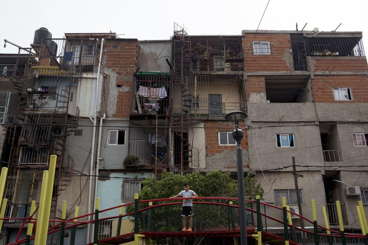 A playground in the Villa 31 slum of Buenos Aires. Argentina has spent almost half of the past six decades under IMF supervision. (Erica Canepa for The Wall Street Journal)