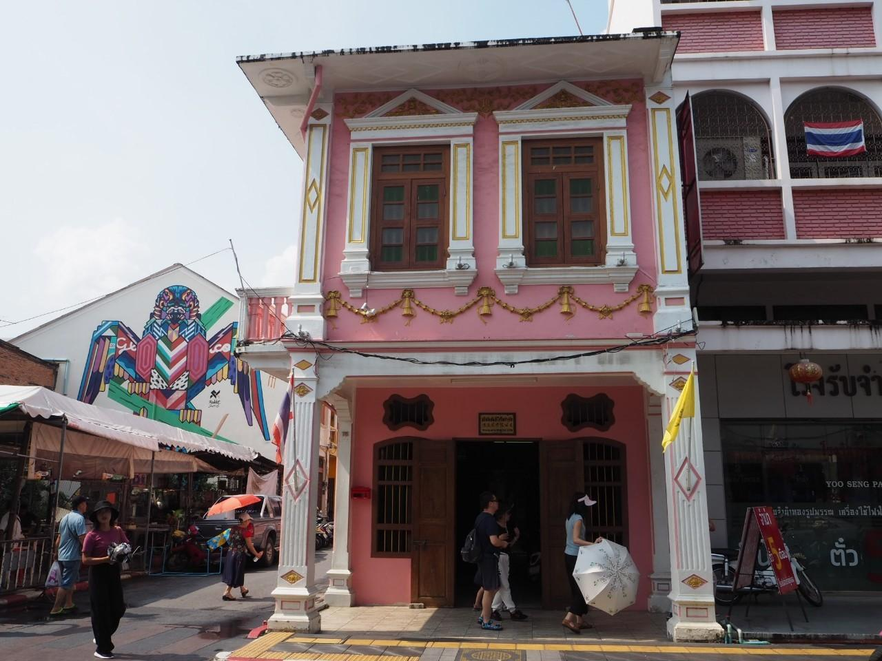 Operators in Phuket Old Town want the government to promote community-based tourism to create more recognition beyond the lure of the beach.(Photo by Dusida Worrachaddejchai)