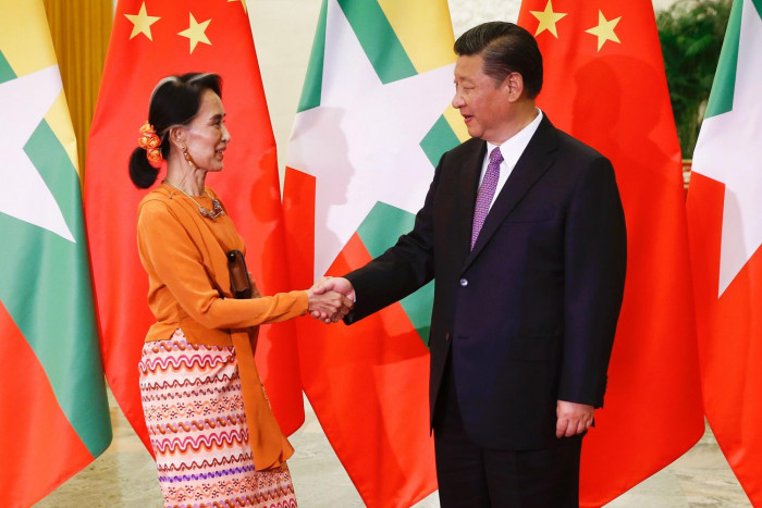 Image result for China and Myanmar launch new era of relations