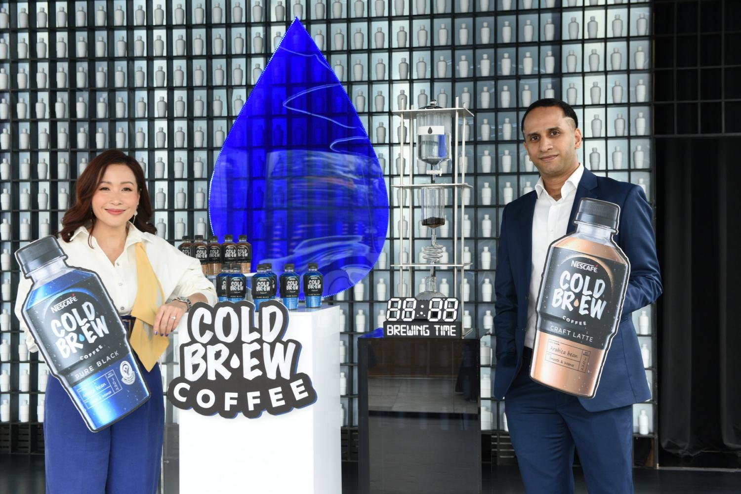 Ms Sriprapha says Nescafe aims to dominate the ready-to-drink coffee market.