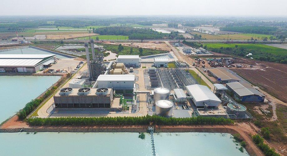 ACE's Koh Khanun Clean Energy is a natural gas power plant in Phanom Sarakham, Chachoengsao province.
