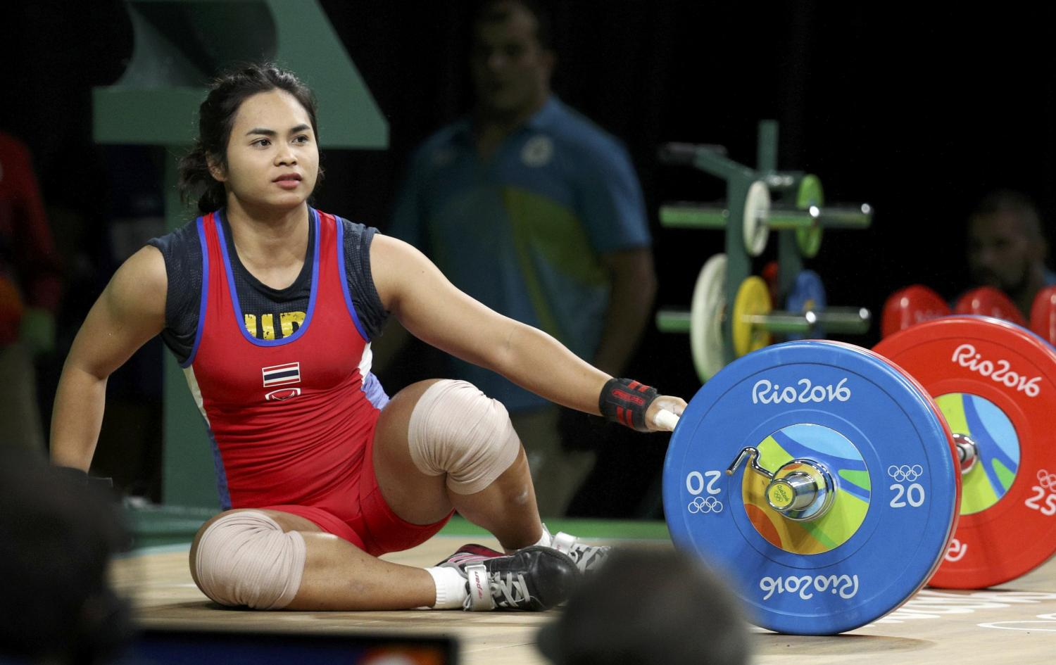 Siripuch (formerly Rattikan) Gulnoi competes at the 2016 Olympics.(Reuters photo)