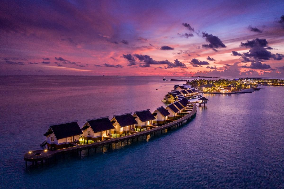 Opened last September, SAii Lagoon Maldives has 198 rooms and a room rate of US$300 per night.