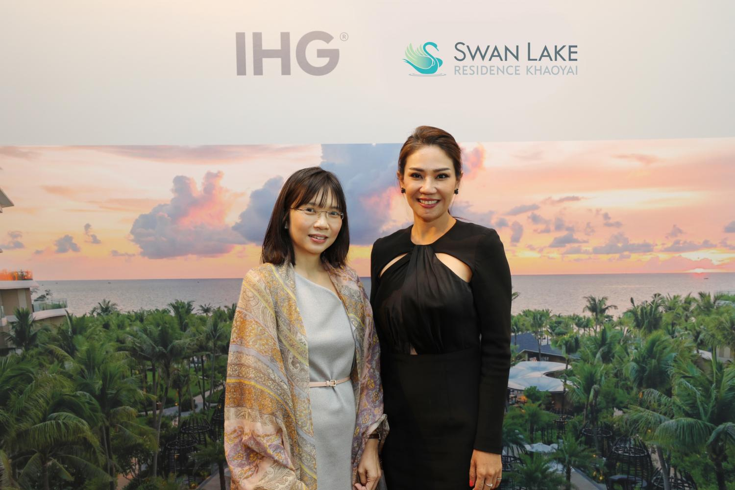 IHG's Ms Lim, left, and Ms Rena both appreciate the opportunities of mixed-use projects.