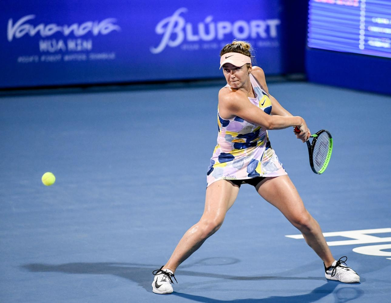 Svitolina suffers quarterfinal exit in Thailand