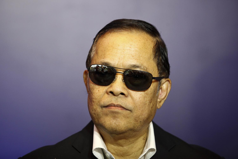 Former FAT chief Worawi Makudi. Pattarapong Chatpattarasill