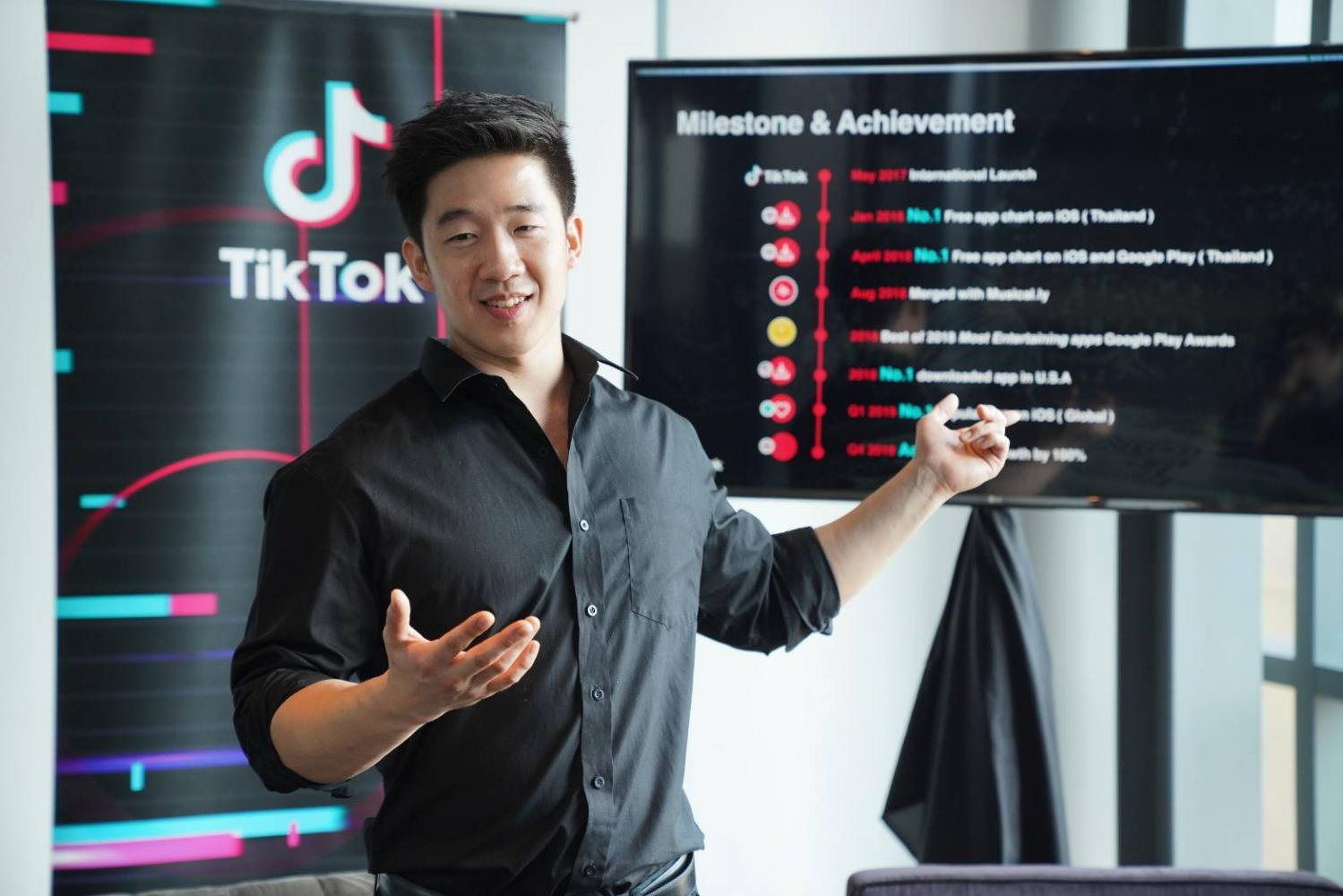 Mr Pakorn says Thailand, Vietnam and Indonesia are the key markets in Asean for TikTok.
