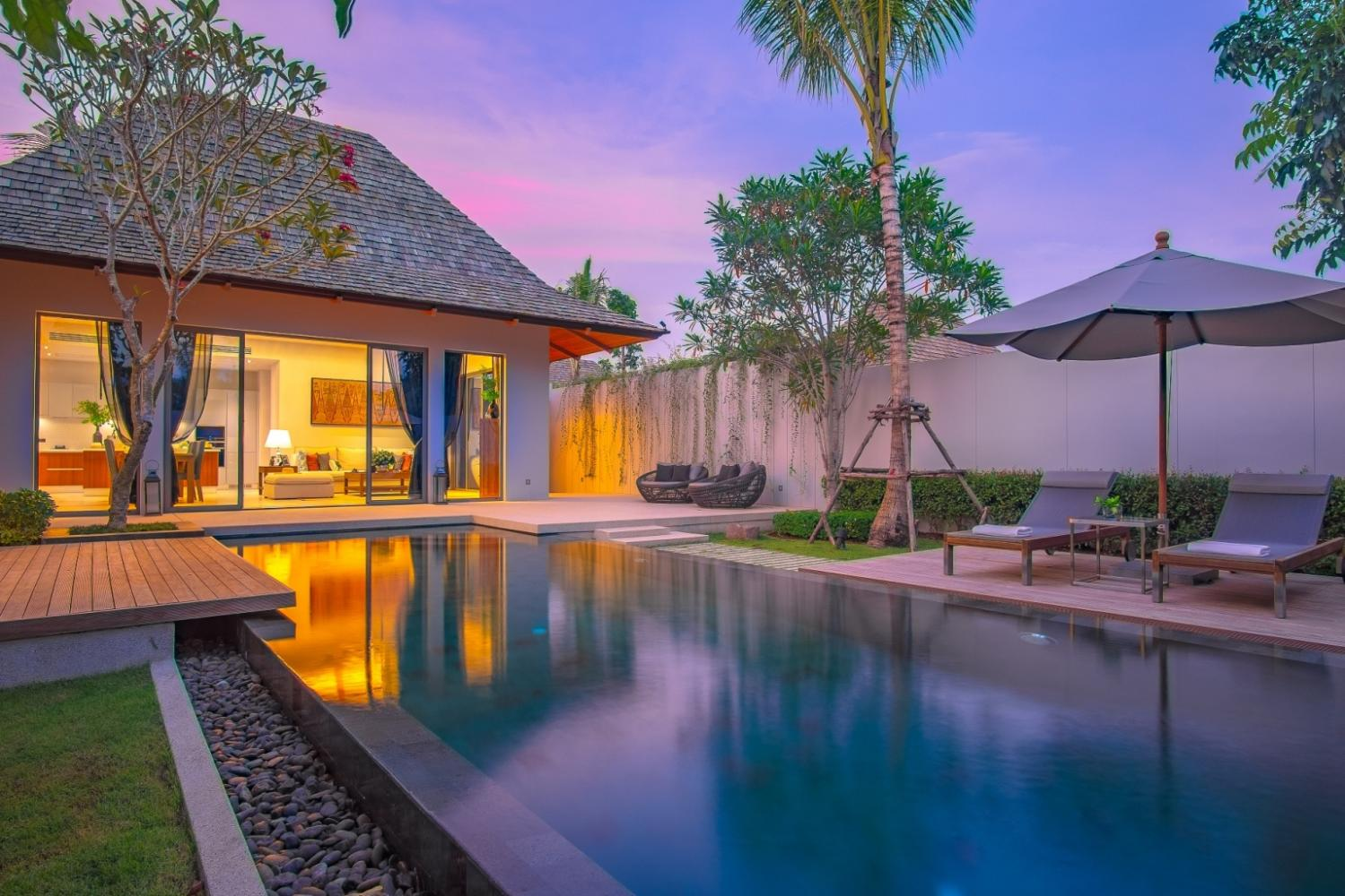 Anchan Hills is among the Phuket villa properties pitched to investors, with a 5% rental return guarantee for three years. Owners have the option of staying in their villa for up to 30 nights a year.