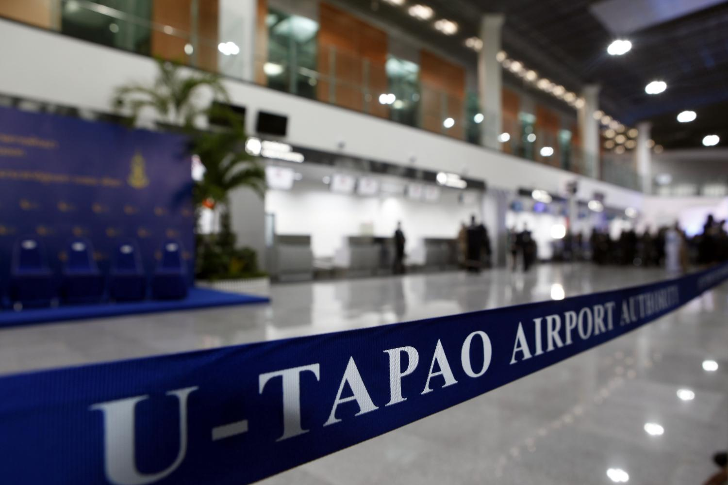 Transforming U-tapao airport into an aviation hub is among the projects supported under the 20-year national strategy plan. (Photo by Apichart Jinakul)