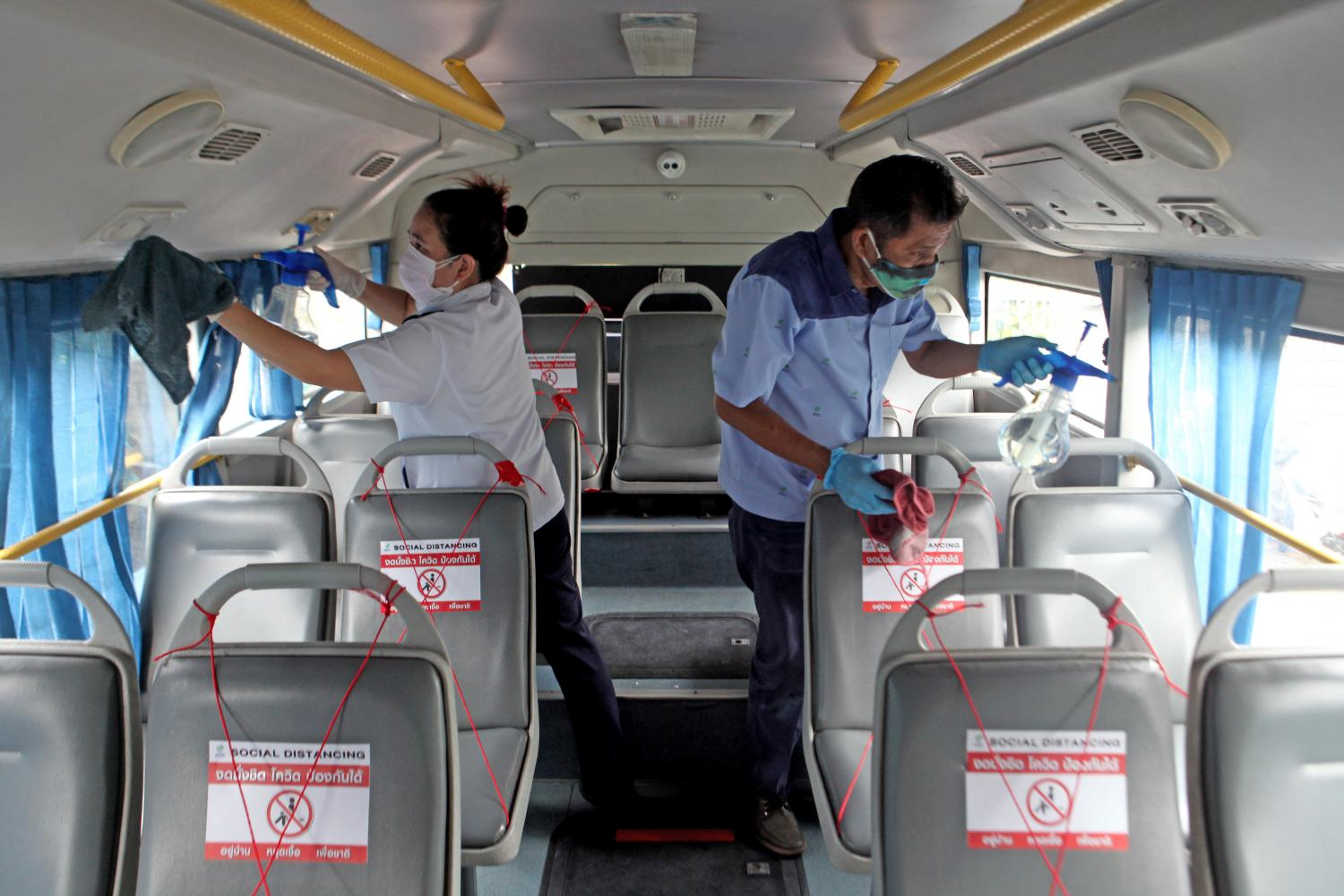 Dead bus driver caught virus at party