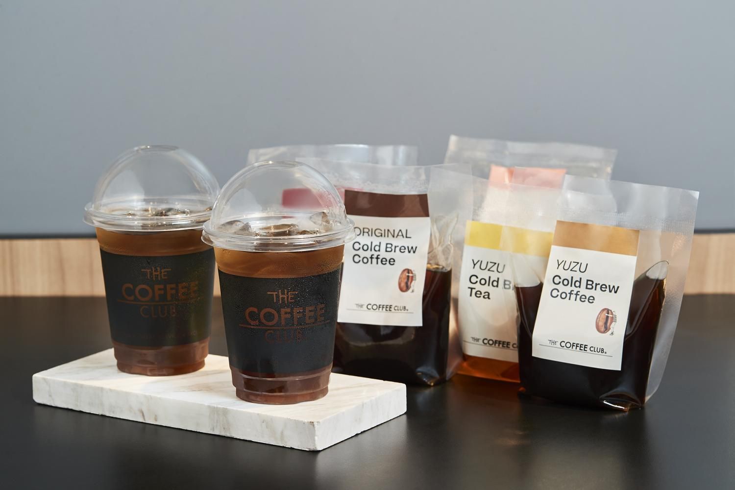 The Coffee Club and sister firm The Pizza Company launch a cold brew in a bag offering for the delivery market.