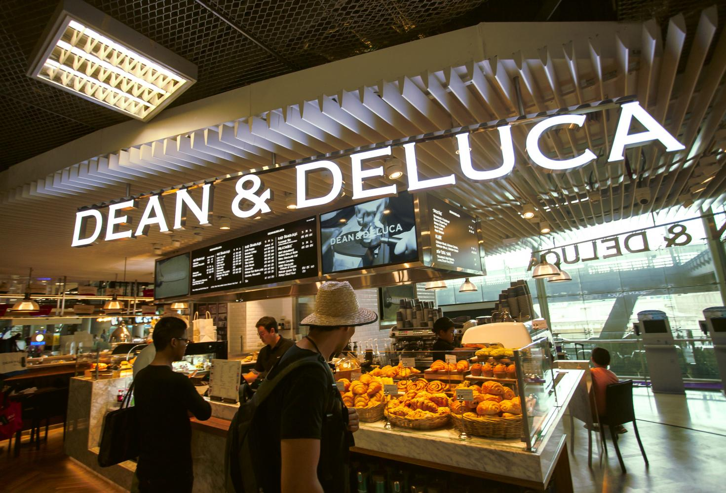 Dean & DeLuca at Suvarnabhumi airport. Owned by Pace, the grocer has filed for bankruptcy in the US.