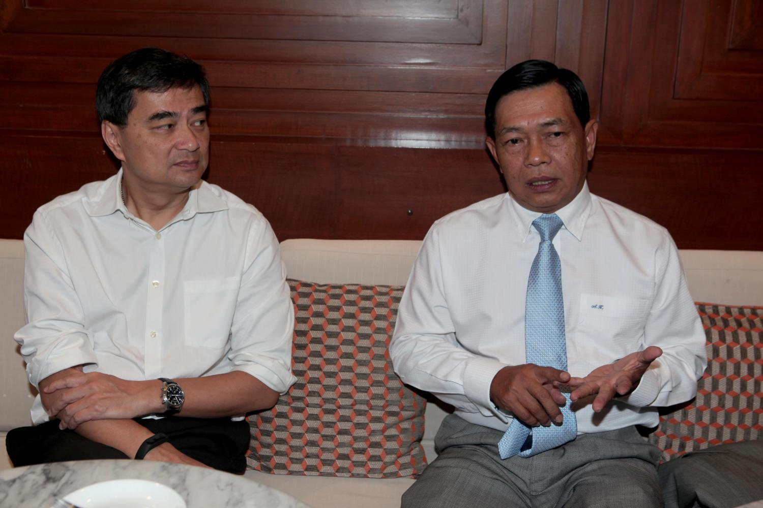 Alongkorn (right): Help for 10m this month