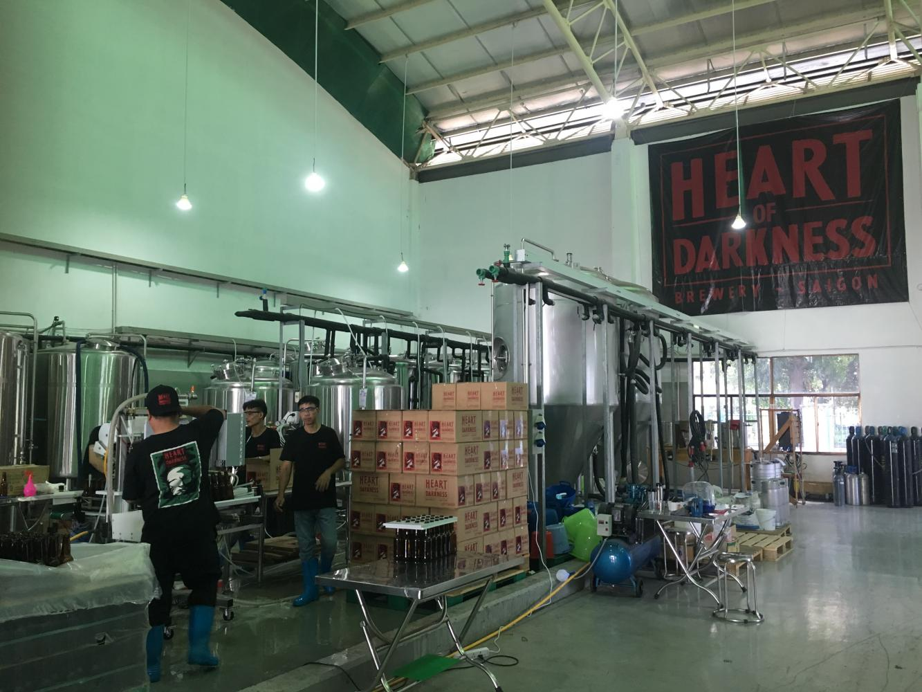 Heart of Darkness Brewery in Ho Chi Minh City.