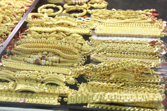 Gold leaps to eight-year high