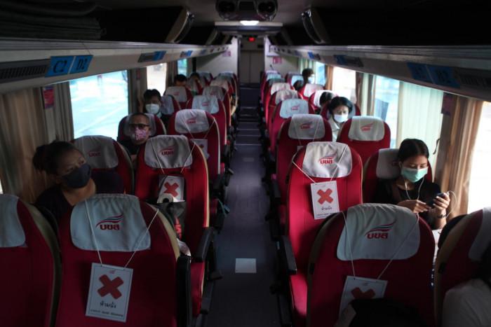 Interprovincial bus services running
