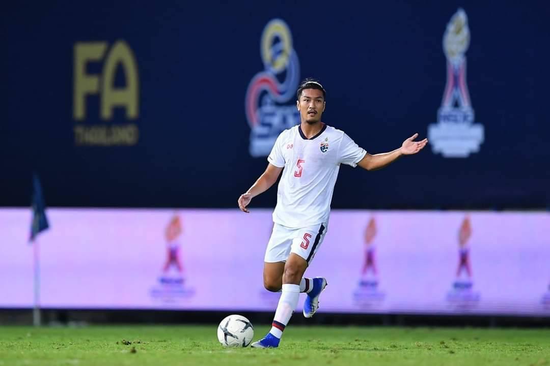 Thailand defender Adisorn Promrak.